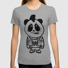 Punk Rock Panda  T-shirt