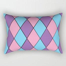 Diamonds - Pastel Rectangular Pillow