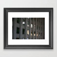 Sun Beyond Framed Art Print