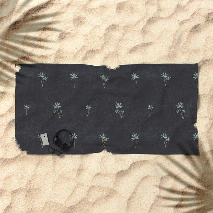 PALMA DARK Beach Towel