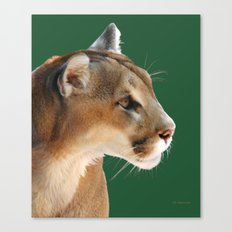 Panther Profile Canvas Print