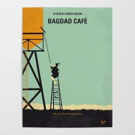 No964 My Bagdad Cafe minimal movie poster Poster