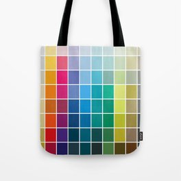 Colorful Soul - All colors together Tote Bag