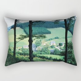 Inderlenne im Sauerland altes Foto von 1958 Rectangular Pillow