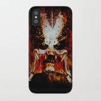 predator iPhone & iPod Cases featuring Predator by Sirenphotos