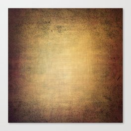 Antique grunge linen texture Canvas Print