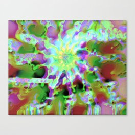 Abstract Dreamer Canvas Print