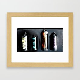 Waste Not Framed Art Print