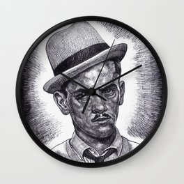 Don't Double Cross 'The Wise Guy'!!! Wall Clock