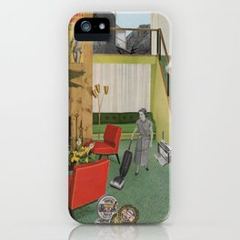 (Acting Like) Some Kind Of Fifties Housewife I iPhone Case