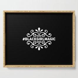 Black Girl Magic Serving Tray