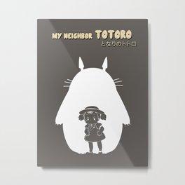 My Neighbor TOTOR となりのトトロ Metal Print