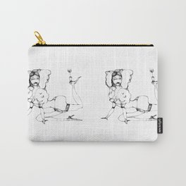Balance with wineglass Carry-All Pouch