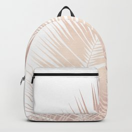 Rose Gold Palm Leaves Dream - Cali Summer Vibes #1 #tropical #decor #art #society6 Backpack