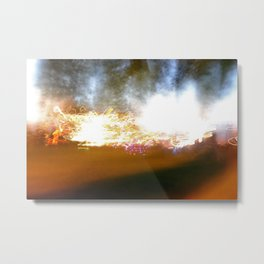 accidental light Metal Print