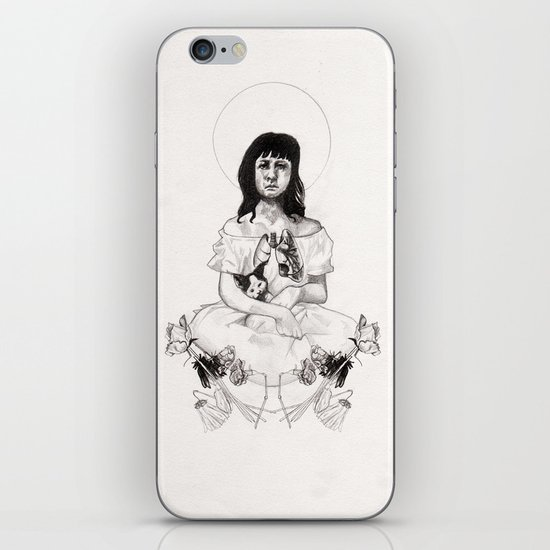 The Girl With Half a Lung iPhone & iPod Skin