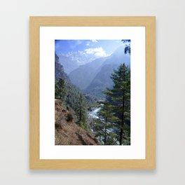 Magnificent Nepal Framed Art Print