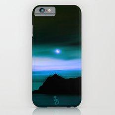 Moonlit Water color iPhone 6s Slim Case