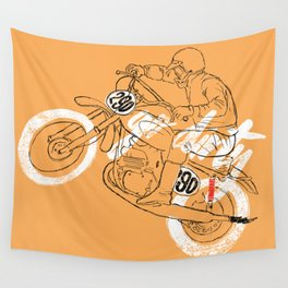 go dirty Wall Tapestry