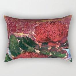 Waratah Dreaming Rectangular Pillow