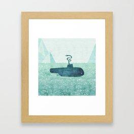The Submarine Framed Art Print
