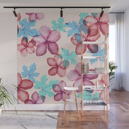 Bloom (flowers pattern) Wall Mural