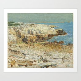 Childe Hassam A North East Headland 1901 Painting Art Print