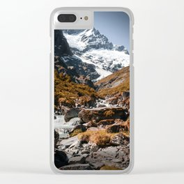 The River (Color) Clear iPhone Case