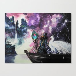 Shangri-La Art - Amethyst Canvas Print