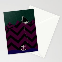 Anchor Drop Stationery Cards