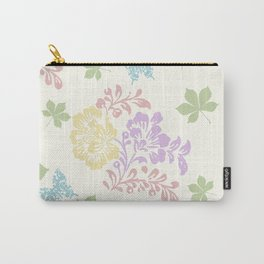 Spring Floral Seamless Pattern Carry-All Pouch