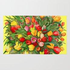 Tulip Bouquet Rug