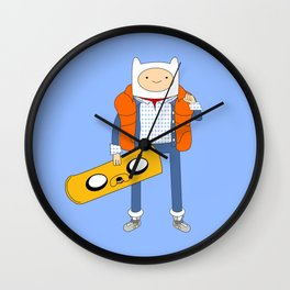 Marty McFinn & Jake the Hoverboard Wall Clock