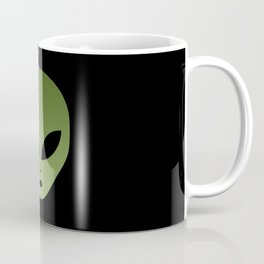 Extraterrestrial Alien Face Coffee Mug