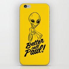 Better call Paul iPhone & iPod Skin