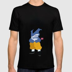 Goku  SMALL Mens Fitted Tee Black