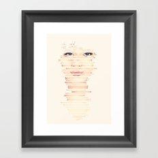 Fragments #2 Framed Art Print