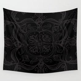 Dark Side Mandala Wall Tapestry