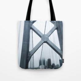 City in the Clouds- San Francisco  Tote Bag
