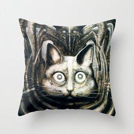 Giger Behemoth Throw Pillow