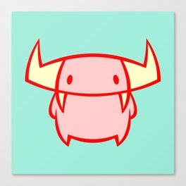 Little Devil Canvas Print