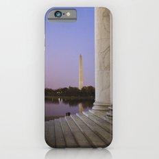 Washington DC at twilight iPhone 6s Slim Case