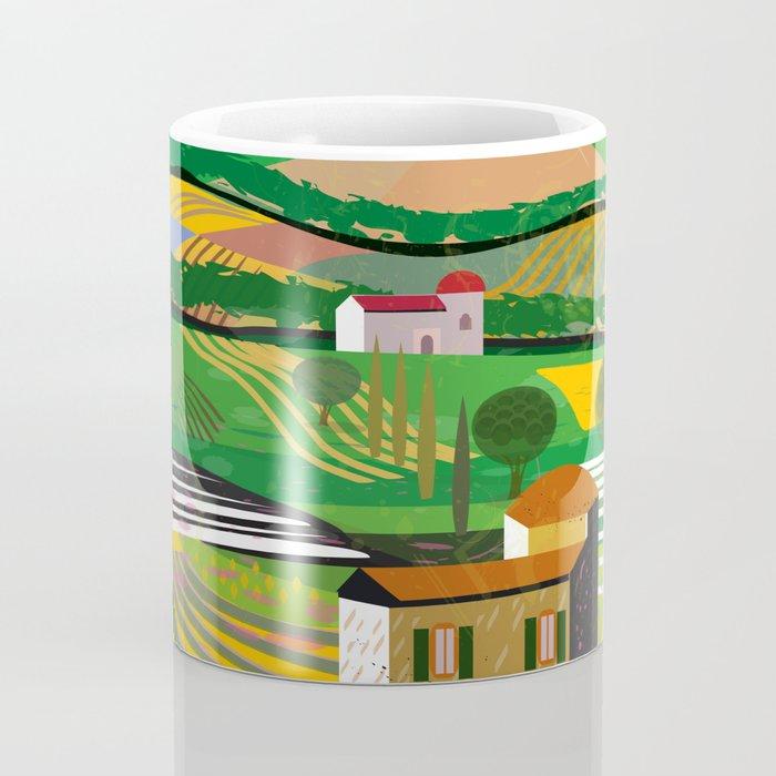 Green Fields Coffee Mug