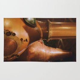 Copper and Whiskey Rug