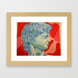 davide Framed Art Print