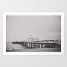 Brighton Art Print