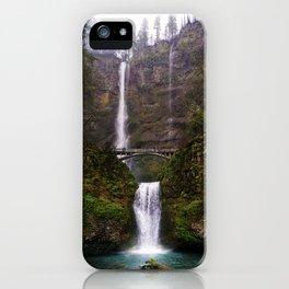 Rainy Multnomah iPhone Case