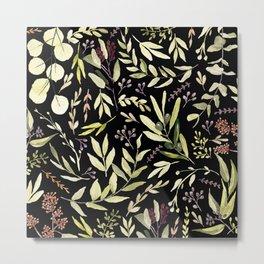 Eucalyptus in Autumn Metal Print