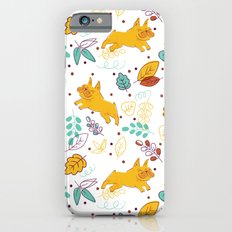 Frenchie Pattern iPhone 6s Slim Case