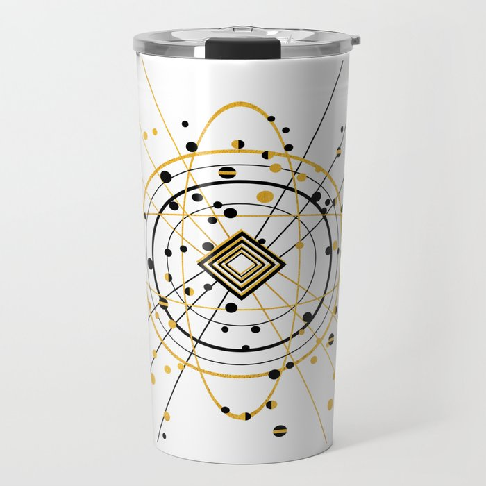 Complex Atom Travel Mug